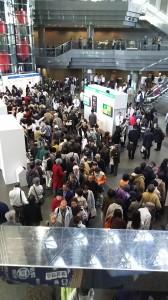 カゴメ株主総会 アトリウム展示